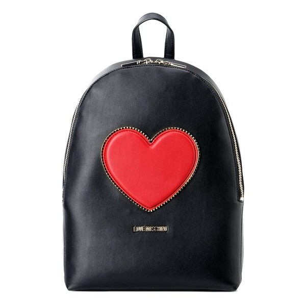 backpack love moschino heart. Black Bedroom Furniture Sets. Home Design Ideas