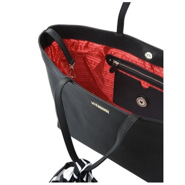 SHOPPING BAG FOULARD PANDA LOVE MOSCHINO