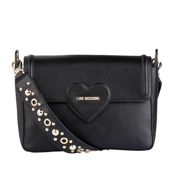 Borsa LOVE MOSCHINO in pelle nera