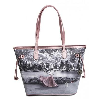 Borse Why Not.Ynot New York Shopping Bag C319 Double Handles Ballerina