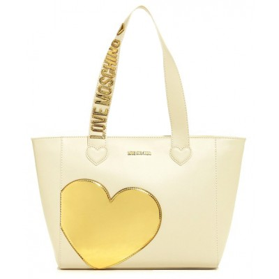 Shopping Oro Love Moschino Cuore Avorio Borsa Itkuzoxp