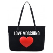Heart Shopping Bag- Love Moschino