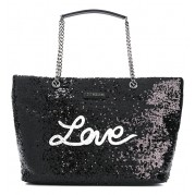 Shopping Bag Paillettes - Love Moschino