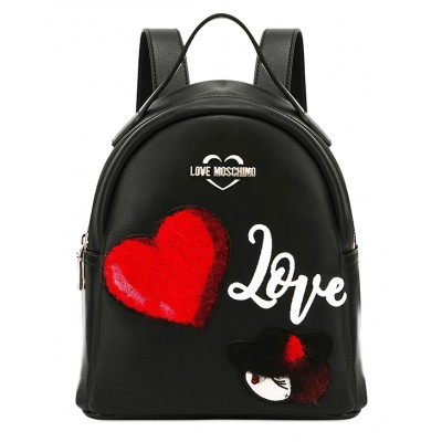 Charming Doll Backpack - Love Moschino
