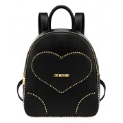 Studded Heart Backpack - Love Moschino